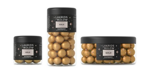 Gold Rasberry  lakritsi (G), Lakrids by Bülow